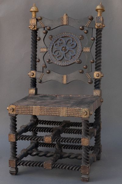 In the Ashanti kingdoms of Ghana, four levels of chairs are