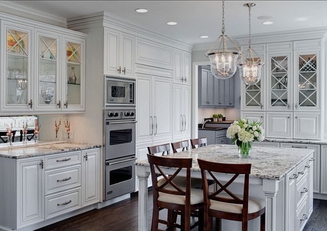 White And Grey Traditional Kitchen 21 spotless white traditional kitchen designs | traditional white