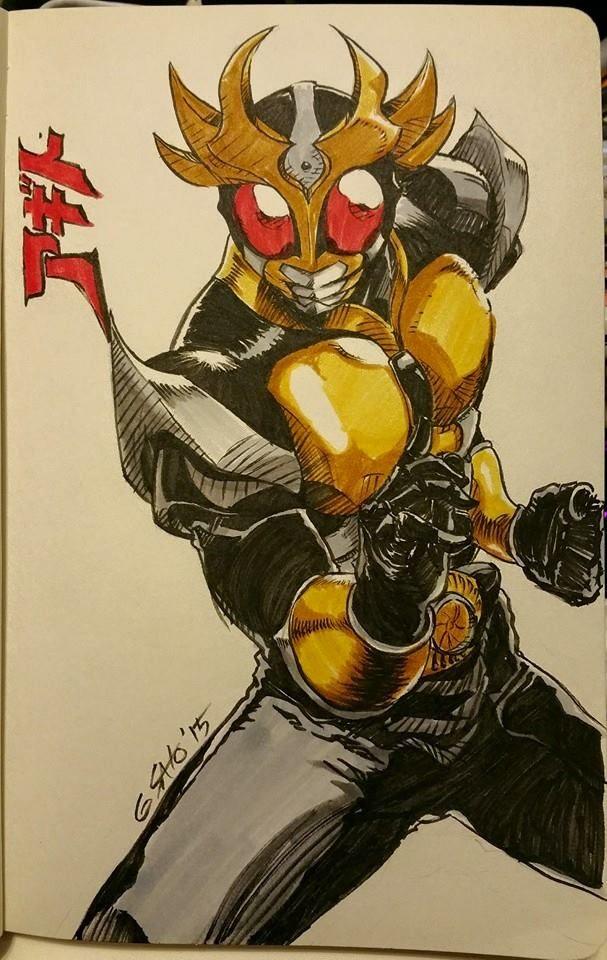 Kamen Rider Agoto by Sato