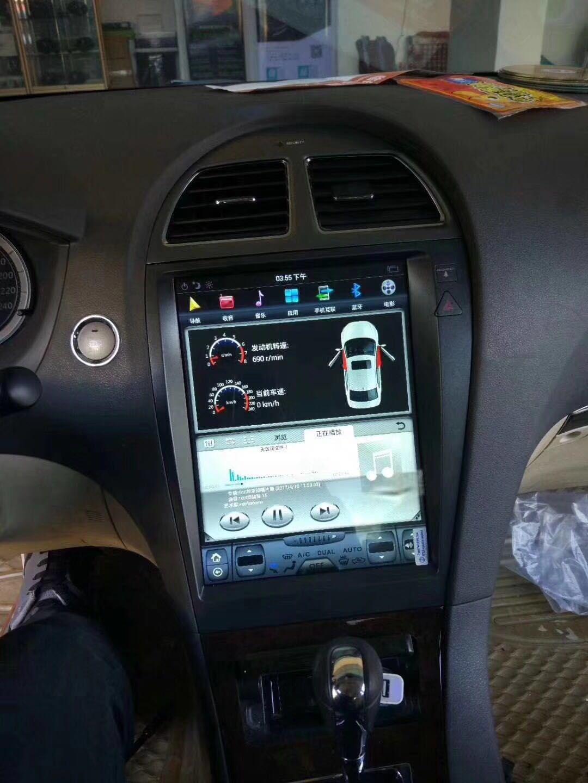 The Newest Coolest Best Intelligent Tesla Style GPS Navigation for Lexus  ES350