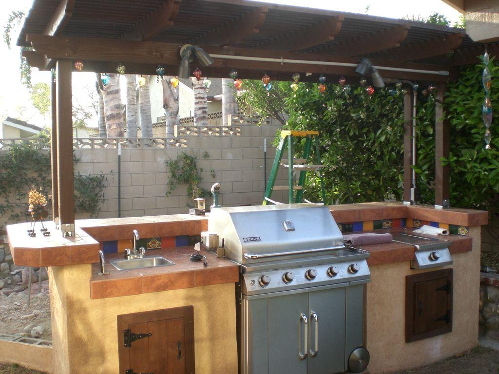 Kleine ideen für die außenküche build a backyard barbecue