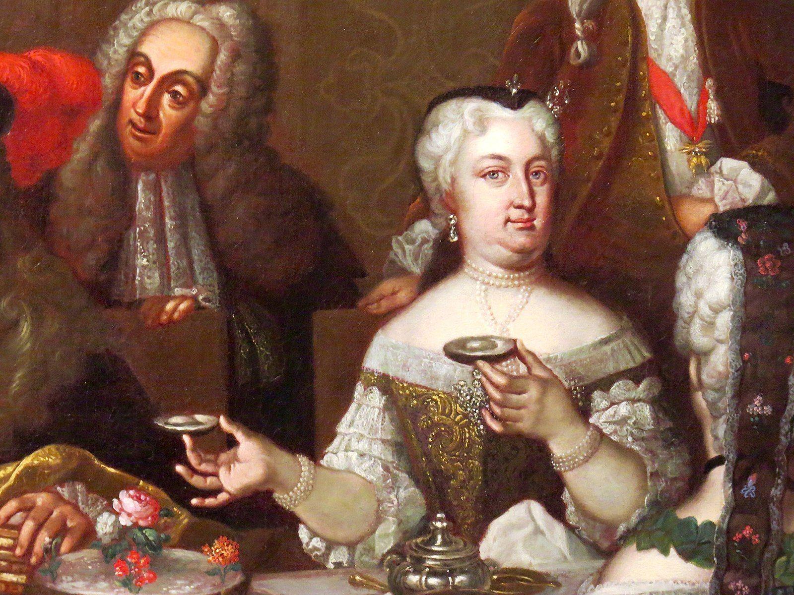 Elisabeth Christine Of Brunswick Wolfenbuttel Detail Johann Salomon Wahl Wolfenbuttel Braunschweig