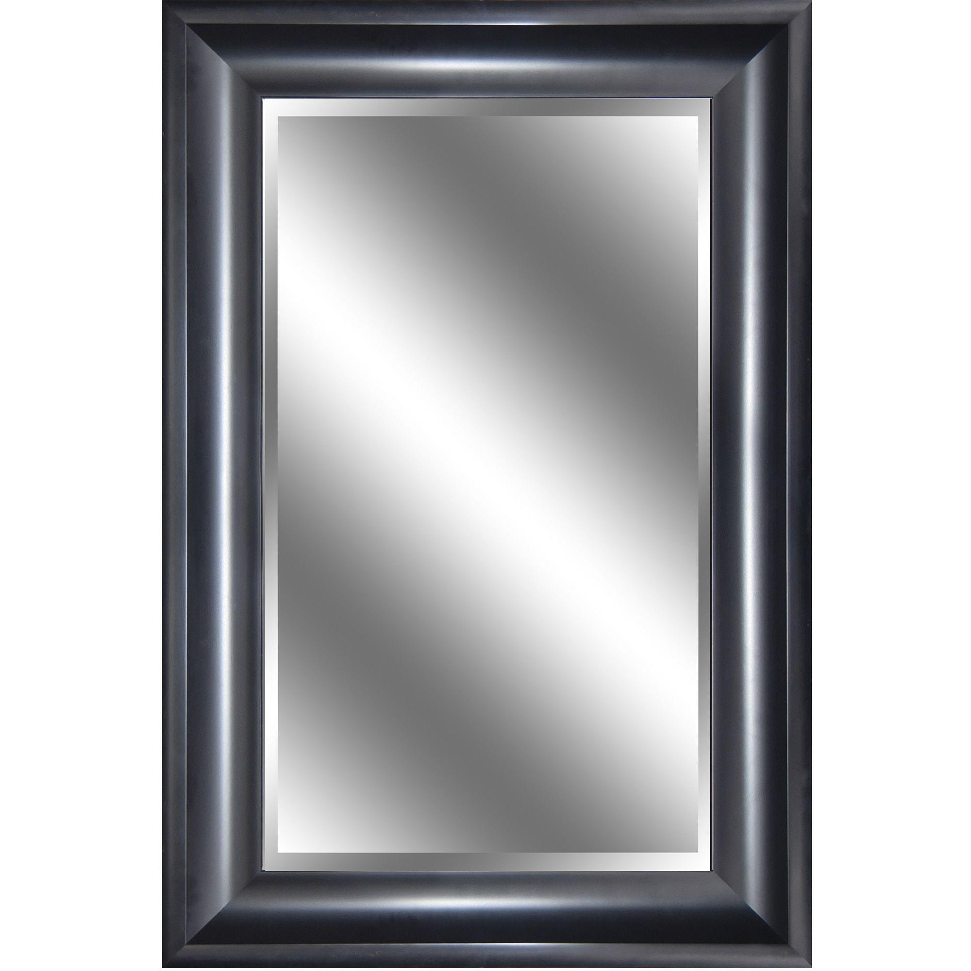 Y-Decor Reflection 24 x 36 x 1-inch Bevel Mirror with 3.75-inch ...