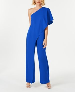 f315e1378697 Adrianna Papell One-Shoulder Jumpsuit - Red 2 in 2019