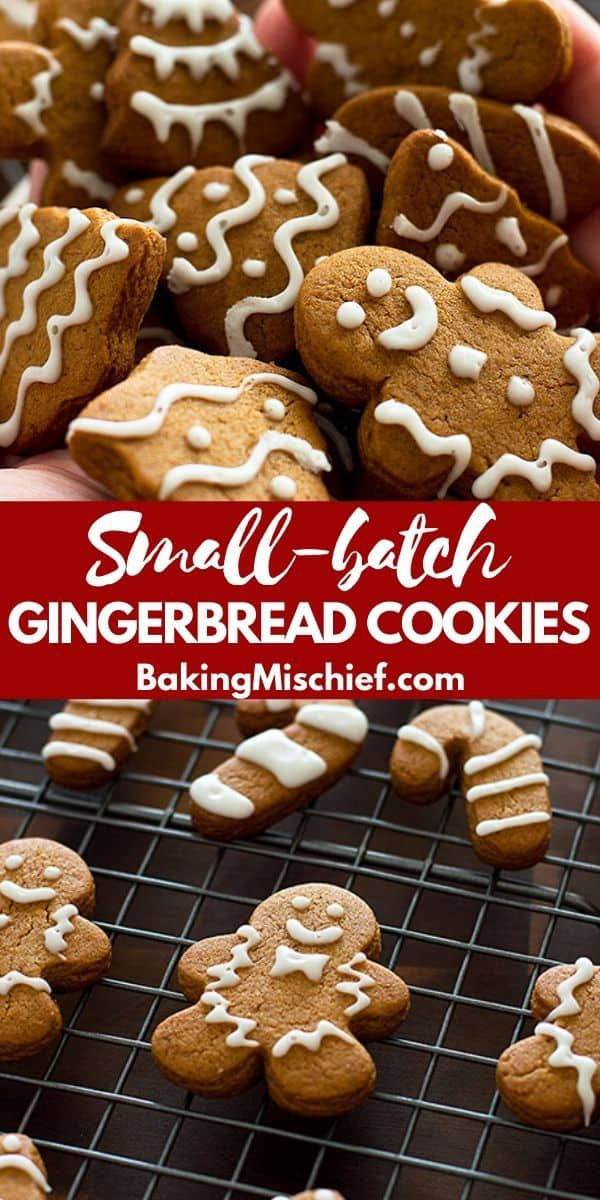 Small-batch Gingerbread Cookies With Faux Royal Icing