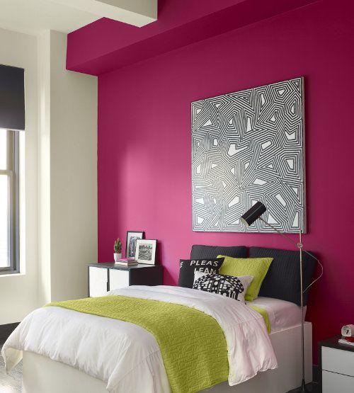 Pinta una pared en el dormitorio - Utensilios para pintar paredes ...