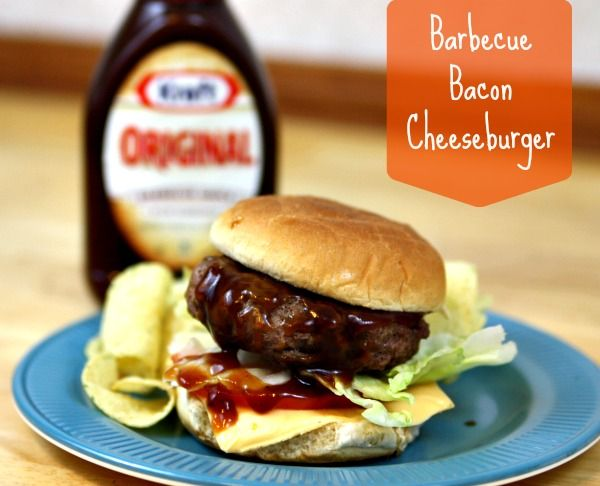 AllAmerican BBQ Bacon Cheeseburgers Recipe This American BBQBacon Cheeseburger Recipe KraftFoodsCheeseburger BradPaisley ad is a better for our Breakfast made with wholes...
