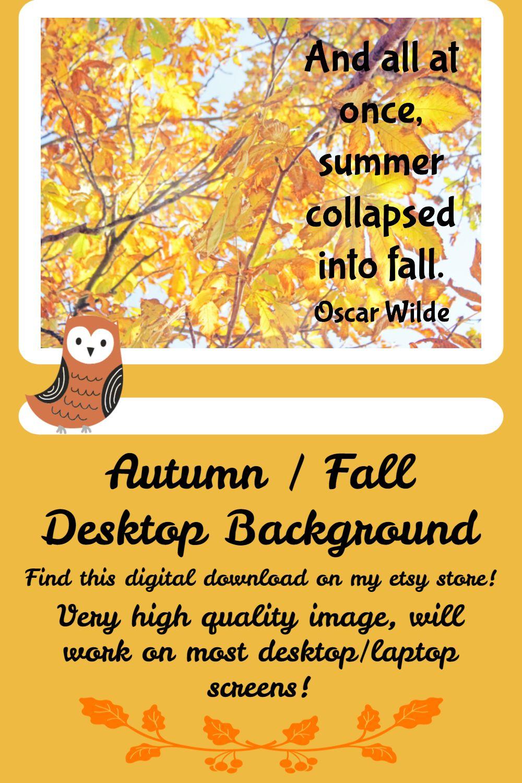 Fall Wallpaper For Desktops