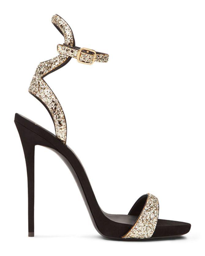 eeba17212c81f Giuseppe Zanotti GWYNETH   clothes   Black high heel sandals, Shoes ...