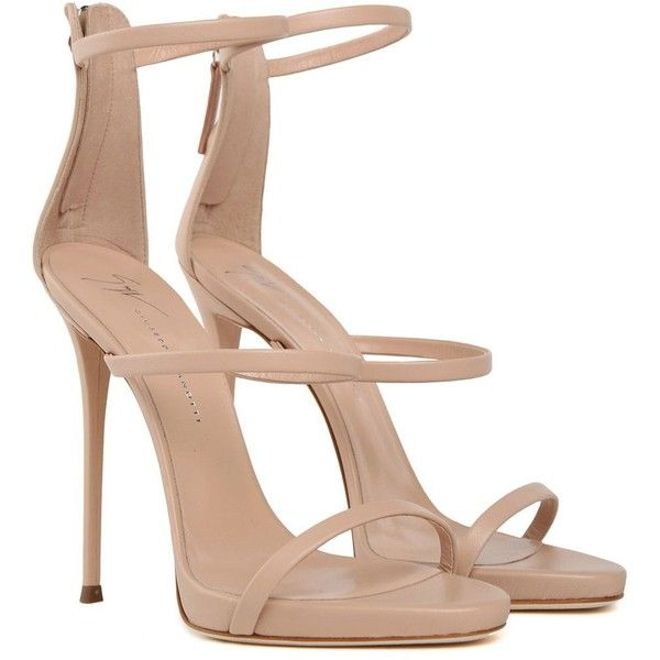 The Slim Straps On These Rose Gold Coline Sandals Are Decorated With Crystal Embellished Suede Star Appliques Although The Heel Heels High Heels Fancy Shoes