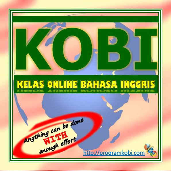 KOBI (Kelas Online Bahasa Inggris) adalah sebuah program  belajar bahasa Inggris secara sangat intensif yang disediakan  untuk para pelajar ES.  Program ini dipimpin dan dibimbing oleh Nofriani, S.S.T.  (dikenal dengan nama pena Safira Khansa) selaku profesional  dalam bidangnya.