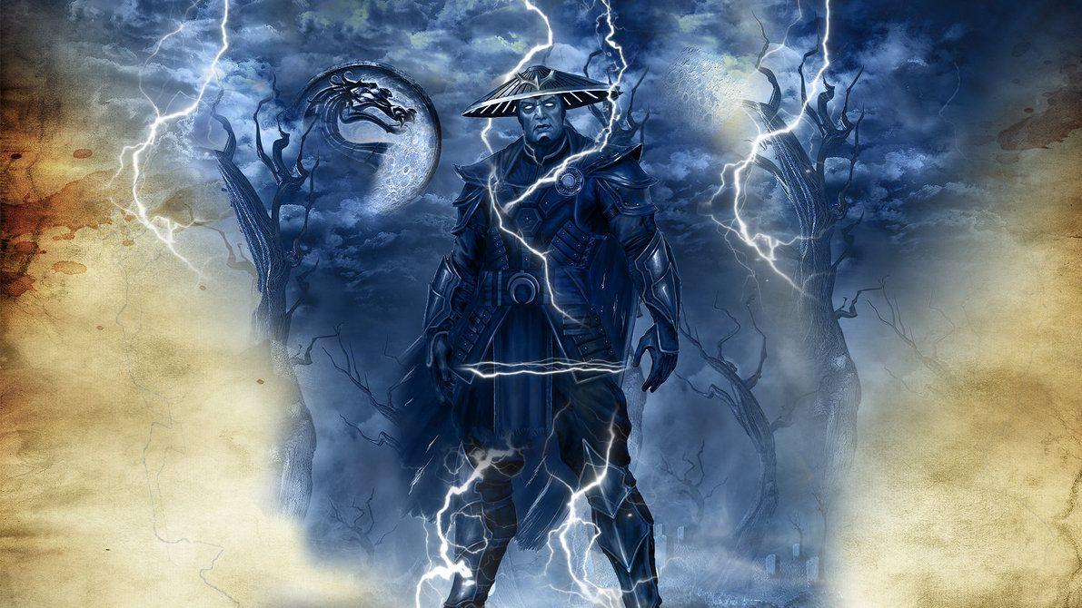 Mortal Kombat Raiden Raiden Mortal Kombat Mortal Kombat X Wallpapers Mortal Kombat