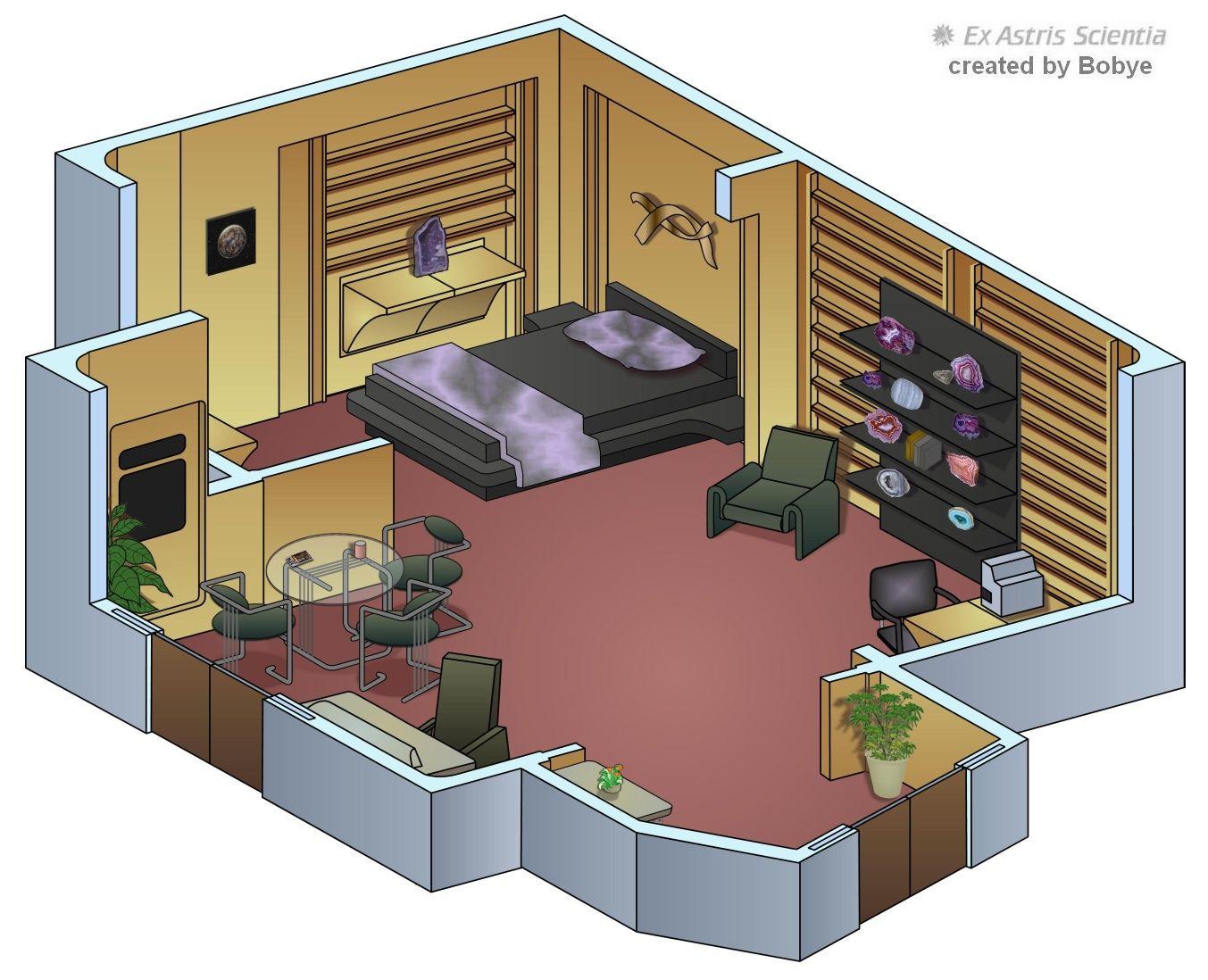 Ex Astris Scientia Galleries EnterpriseD Interiors great