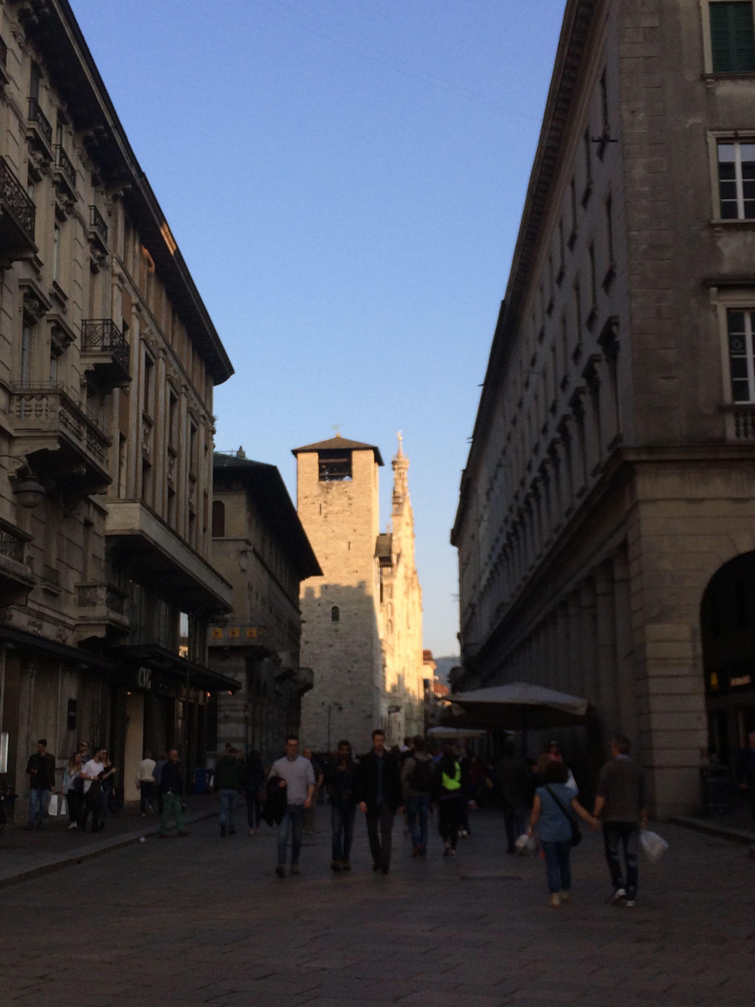April 8, 2017 #Como #Italy #PedestrianZone