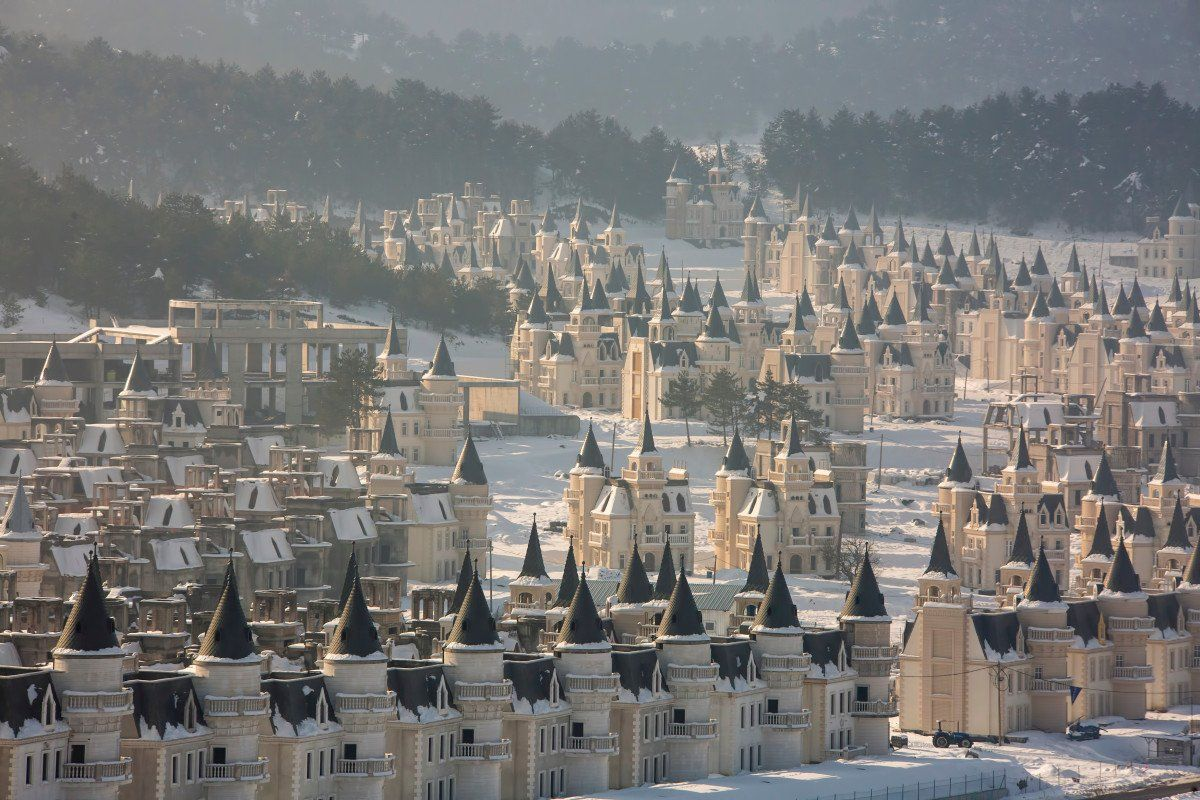 Turkey, welcome to the city of ghost castles