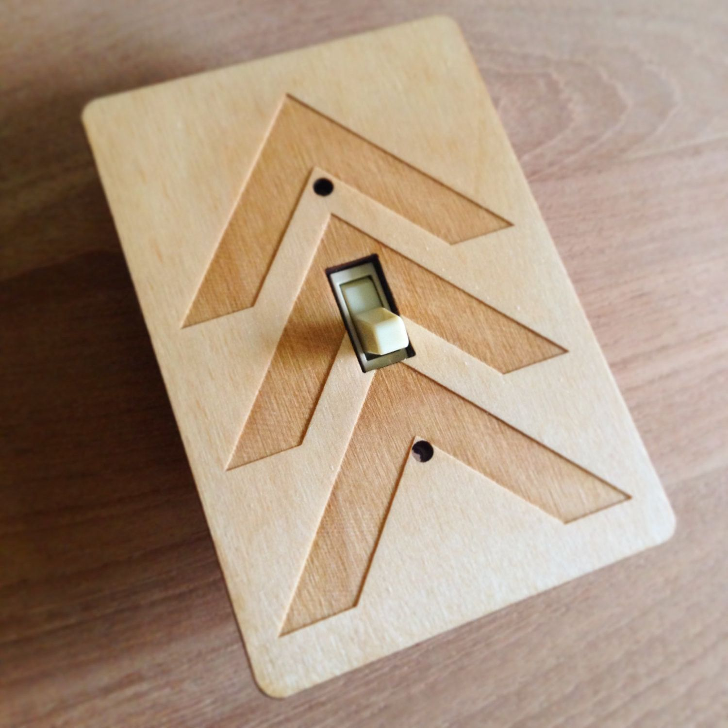 Made To Order Allow One Week Each Wooden Light Switch Plate Is