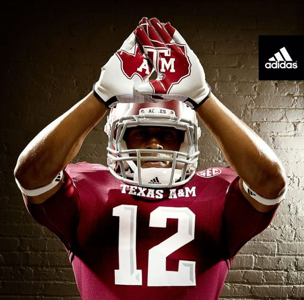 adidas Unveils Texas A 2012-13 TECHFIT Football Uniforms