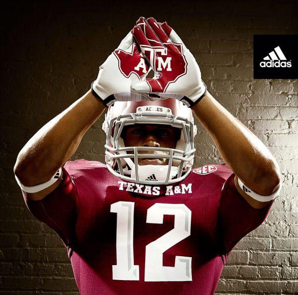 Adidas Unveils Texas A 2012 13 TECHFIT Football Uniforms Part 35