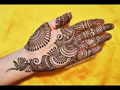 Unique arabic mehndi henna for hands beautiful stylish mehendi design latest youtube also rh ar pinterest