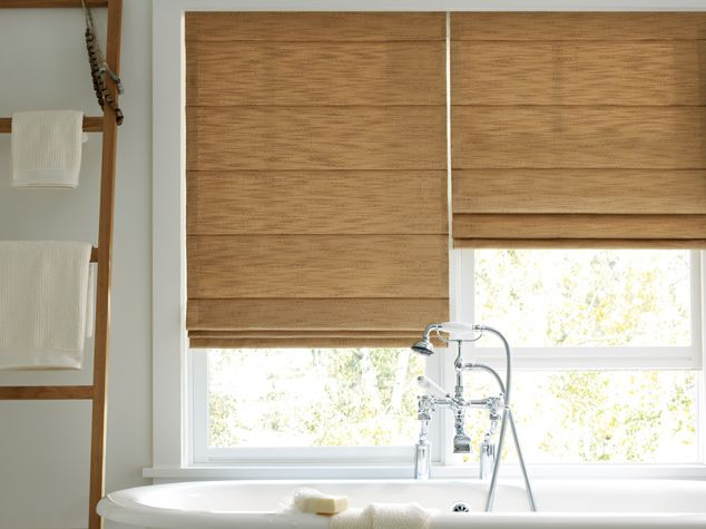 Decorating roman shades for windows : Hunter Douglas Design Studio™ Roman Shades, Batten back, http ...