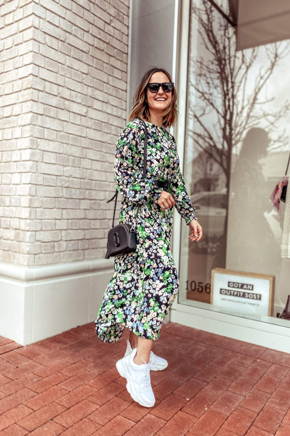 My Favorite H M Dresses Right Now Charmed By Camille In 2020 Floral Dress Outfits Spring Dresses Casual Floral Dress Casual