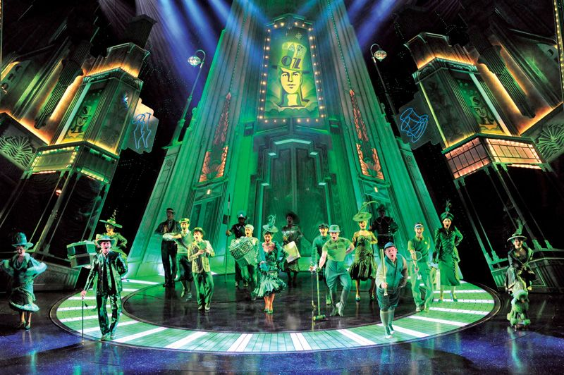 the emerald city photo keith pattison really useful group production of the wizard