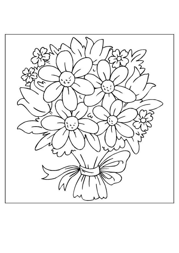 Free Printable Flower Coloring Pages For Kids - Best Coloring Pages For  Kids Flower Coloring Sheets, Flower Coloring Pages, Printable Flower  Coloring Pages