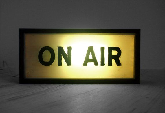 on air wooden light box lighted hand painted signs light up