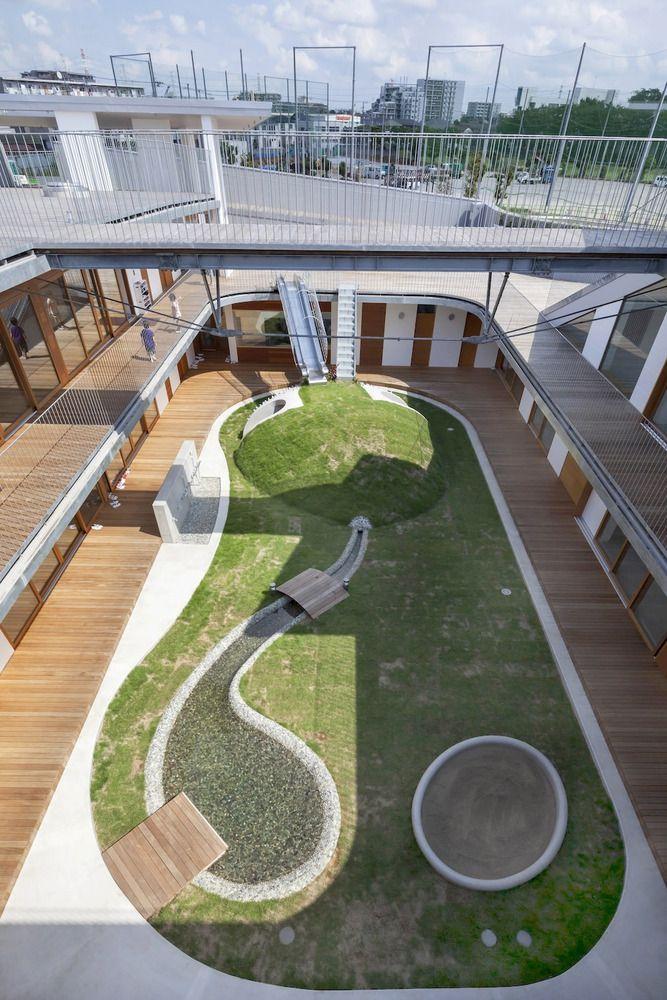 Attractive A Nursery School In Hiroshima Shaped Like A Peanut   Nursery School,  Architects And School