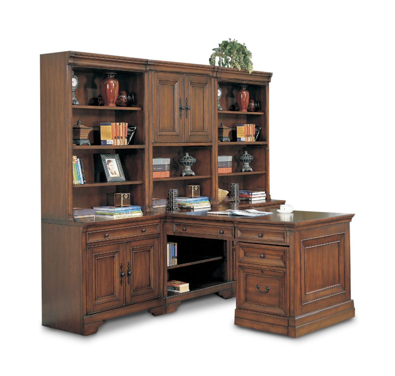 Richmond 3 Bay Cherry Modular Office Hom Furniture Hom
