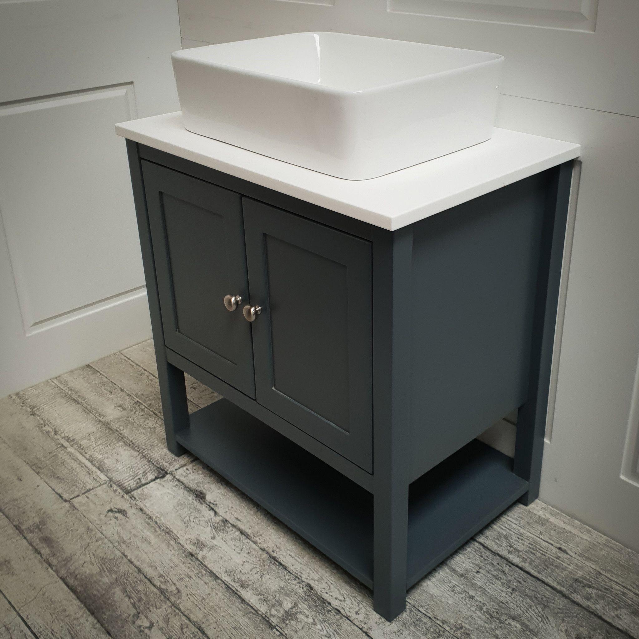 Ava Door Vanity Unit Single Sit On Basin Bathroom Sink Vanity Units Bathroom Vanity Units Bathroom Sink Units