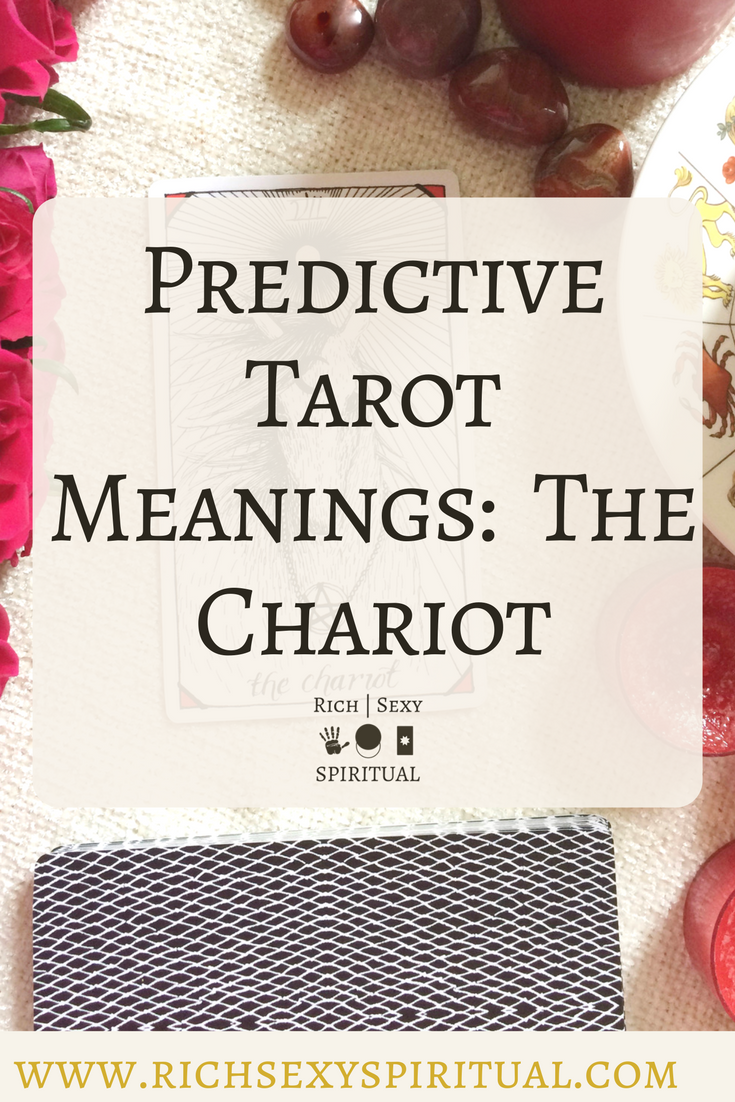In a tarot card reading the chariot in a spread can be a symbol in a tarot card reading the chariot in a spread can be a symbol of drive determination and war this post includes a vintage and modern fortune telling buycottarizona