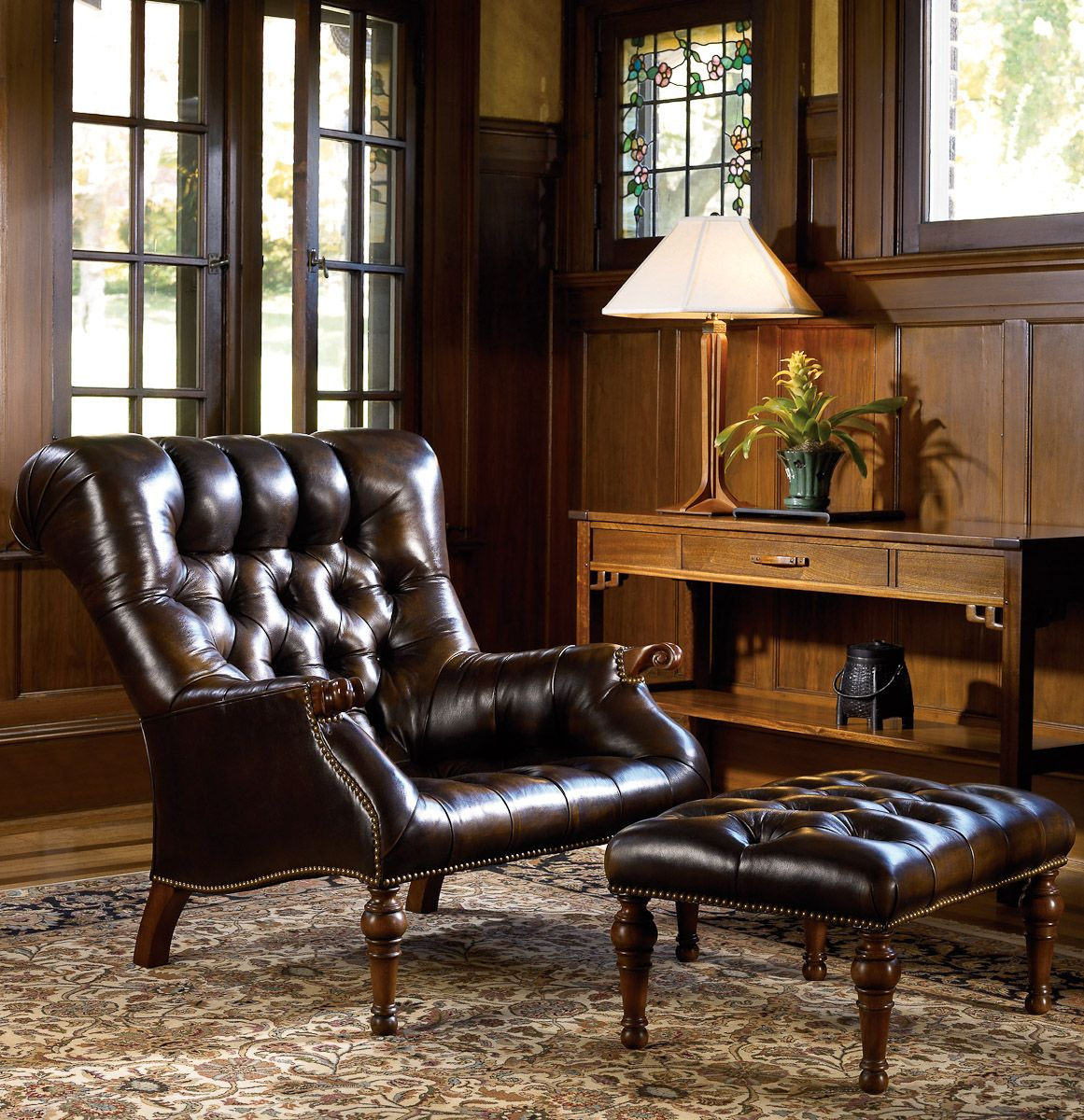 Exceptionnel Stickley Leopoldu0027s Chair Named For Our Stickley Co Founder, The Leopoldu0027s  Chair Is Based Off Of One Of His Favorite Designs. With Posh Tufting, Nail  Head ...