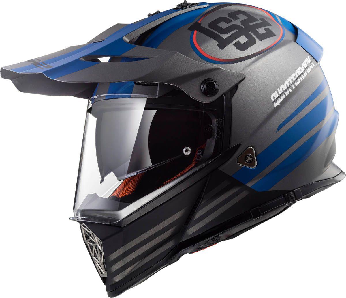 New LS2 Pioneer Dual Sport Helmet Colours Helmet, Dual