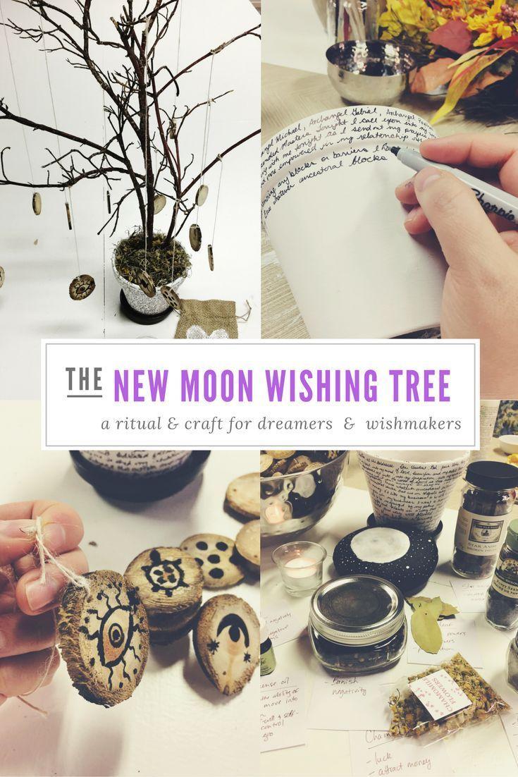 New Moon Wishing Tree