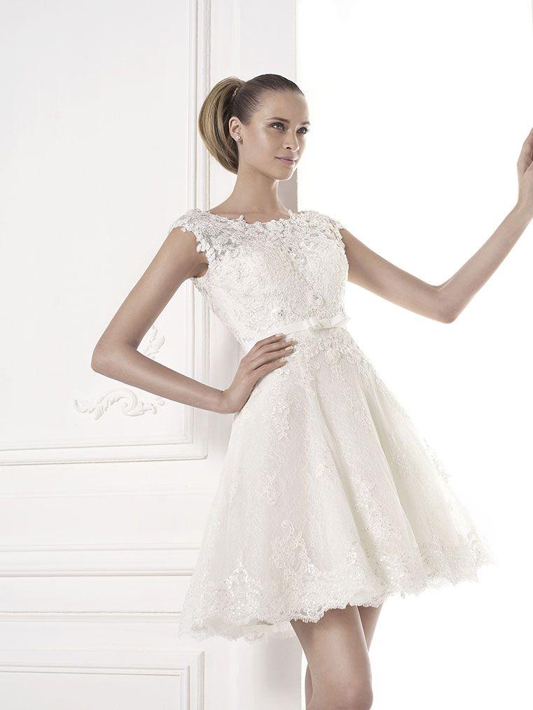 Brautkleid standesamt pronovias