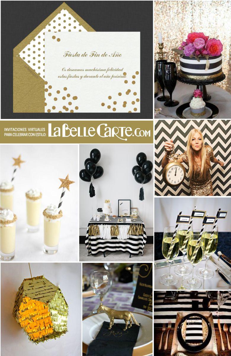 Tarjetas de navidad e ideas para celebrar una fiesta fin - Ideas para una fiesta de navidad ...