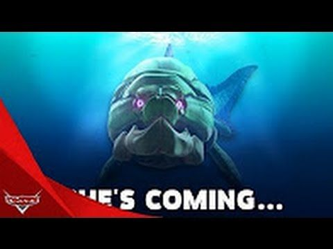 Hungry Shark World Big Momma Dunkleosteus She Is Coming Shark