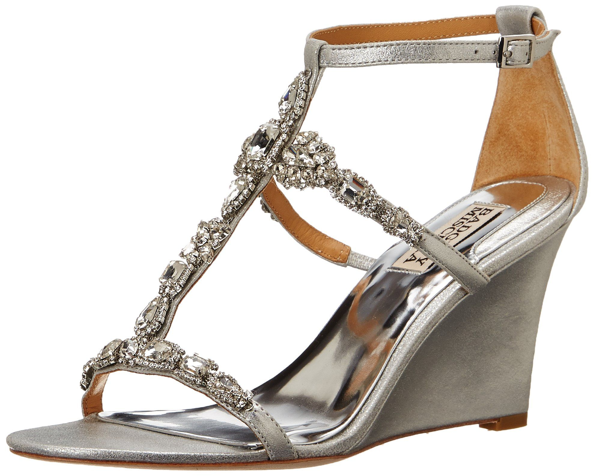 f796421d579 Amazon.com: Badgley Mischka Women's Melissa II Wedge Sandal: Shoes ...