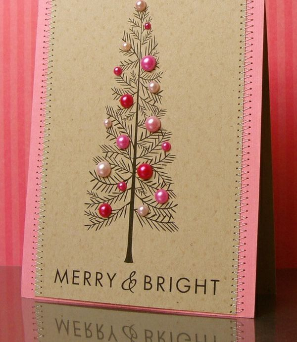 Weihnachtskarten basteln - ein persönliches Geschenk für Weihnachten ...