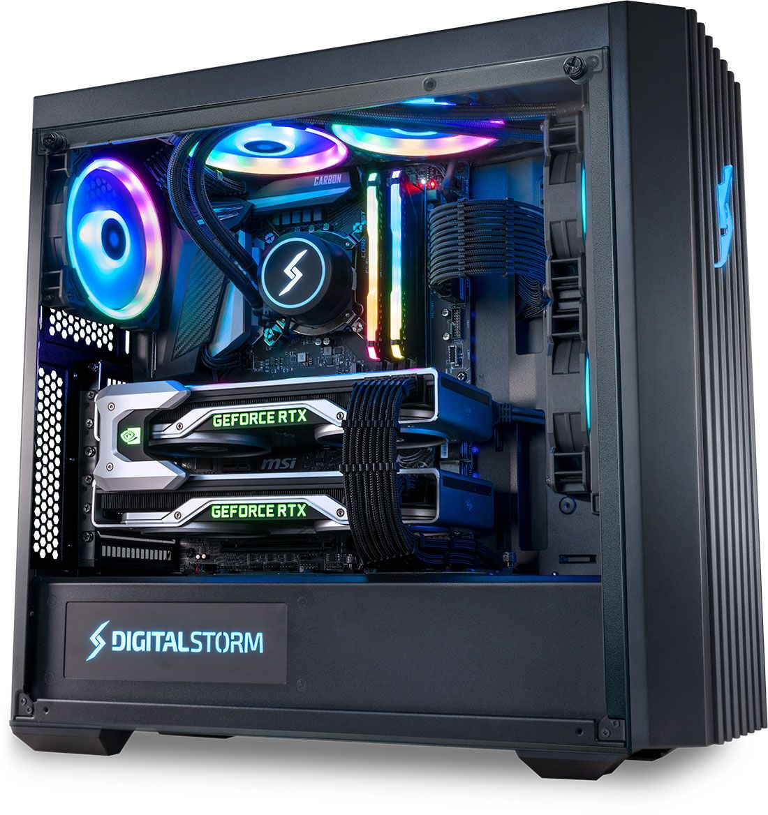 Lynx Gaming Pc By Digital Storm In 2020 Gaming Pc Gaming Machine Computer Gaming Room