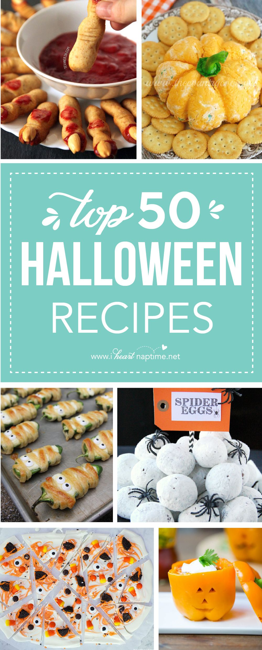 Top 50 Halloween Recipes | Halloween, Dishes and Dips