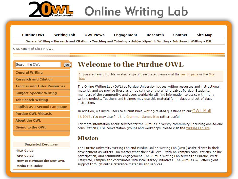 Purdue University Online Writing Lab Argumentative Essay Jobs Owl Persuasive