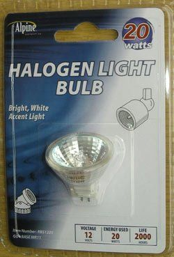 Alpine 20w 12 Volt Halogen Light Bulb Light Bulb Bulb Dimmable Led Lights