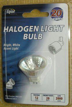 Alpine 20w 12 Volt Halogen Light Bulb Light Bulb Bulb Dimmable Led Lights