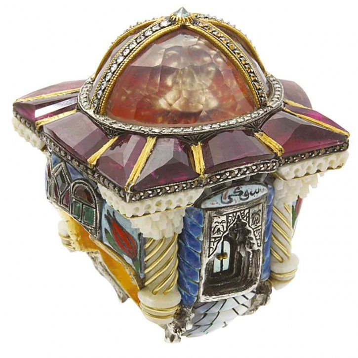 """Temple of Hope"" ring by Sevan"