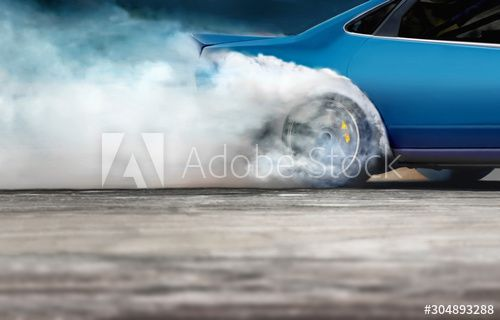 Race drift car burning tires on speed track , #ad, #car, #drift, #Race, #burning, #track #Ad