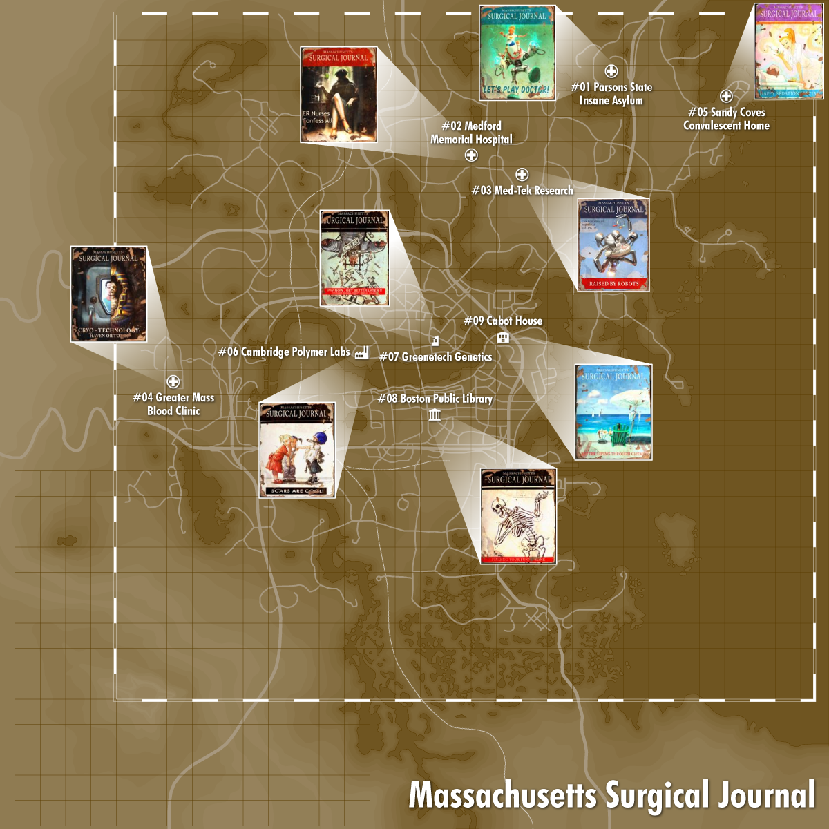Surgical Journal Locations Mags Fallout4 Gaming Fallout Bethesda Games Ps4share Ps4 Fo4