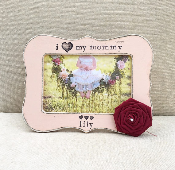 Mothers Day Gift Gift For Mom Mom Frame I Love My Mommy