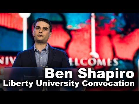 Ben Shapiro Liberty University Youtube Liberty University Online Education Christian Students